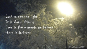 You are the light!